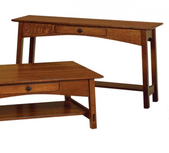 McCoy Open Coffee and End Tables MCO1654S Sofa Table