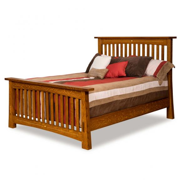 Mesa Bedroom Collection Queen Size Slat Bed