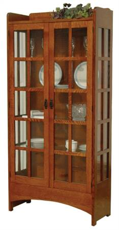 Midway Mission Two Door Display Case