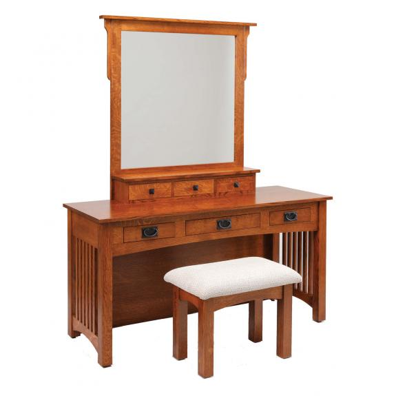 """60"""" Mission Dressing Table"""