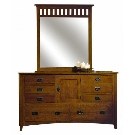 Mission Antique Bedroom Collection Dresser