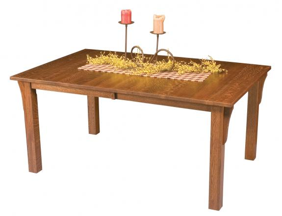 Mission Leg Style Dining Table