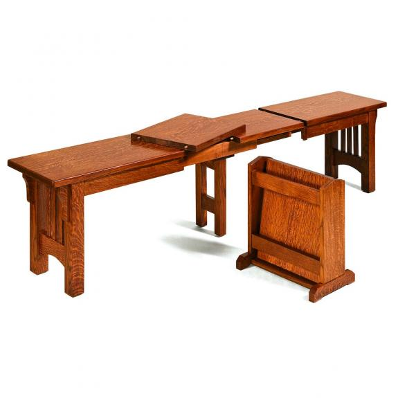 Mission Dining Bench