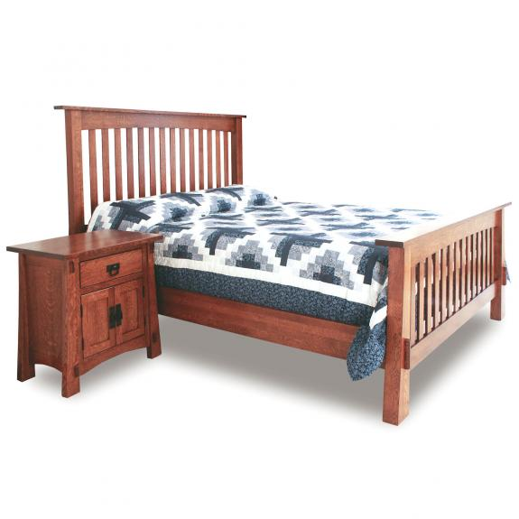 Modesto Bedroom Furniture Set MD-SB Slat Bed