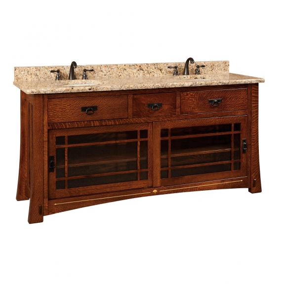 "Morgan 72"" Double Bathroom Vanity"