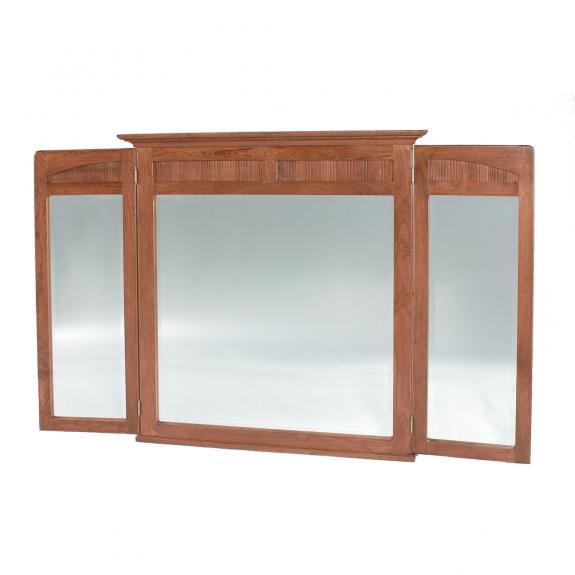 New Bedford Bedroom Set Tri Fold Mirror