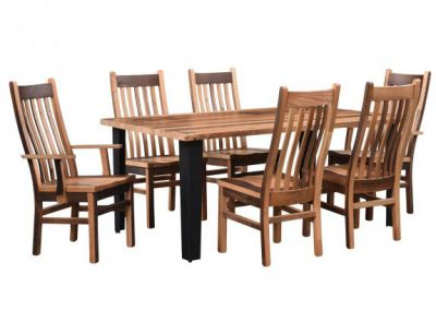 Newport-Dining-Table-with-Mission-Chairs
