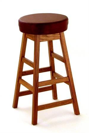 Ohio Bar Stool with Padded Seat