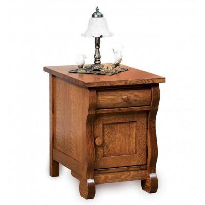 Old-Classic-Sleigh-Closed-End-Table