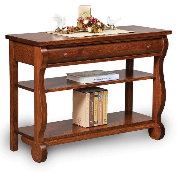 Old Classic Sleigh Occasional Tables Sofa Table