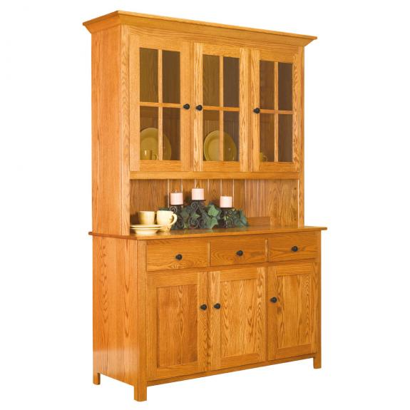 Old South Country Dining Collection G02-33S Dining Hutch