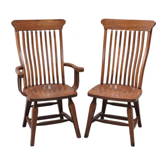 Old South Country Dining Collection G02-10/G02-11 Dining Chairs