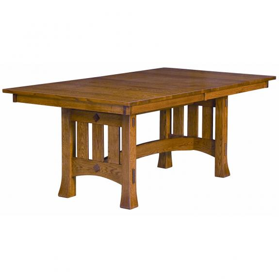 Olde Century Dining Set Olde Century Trestle Table