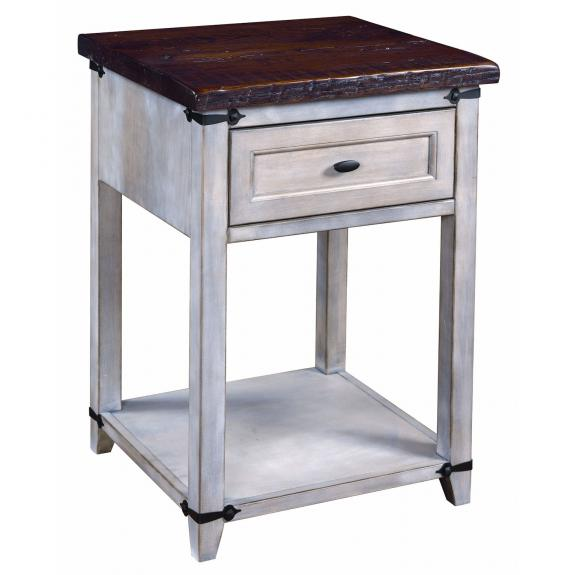 Farmhouse Heritage Bedroom Collection 1 Drawer Nightstand