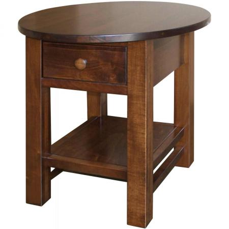 Cabin Creek Coffee and End Tables Oval End Table