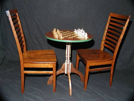 Checkerboard Table / Chess Table