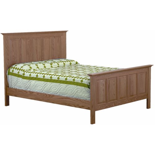 Bordeaux Bedroom Set Queen Panel Bed
