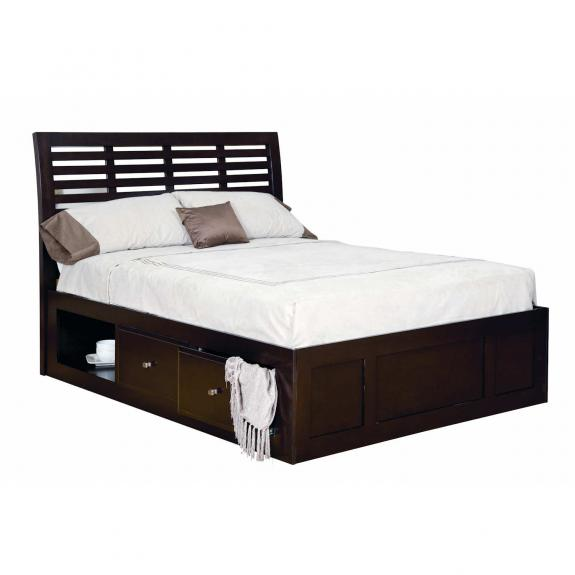 Park Avenue Bedroom Set MB5610Q Storage Bed