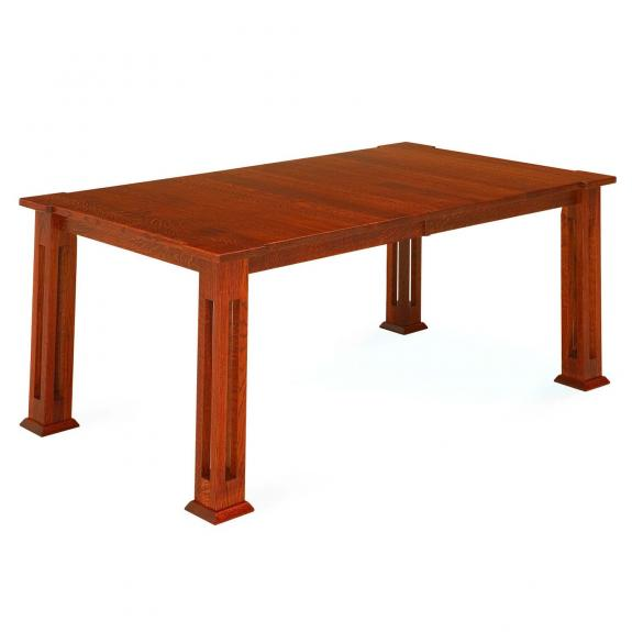 Parker Mission Wood Dining Table