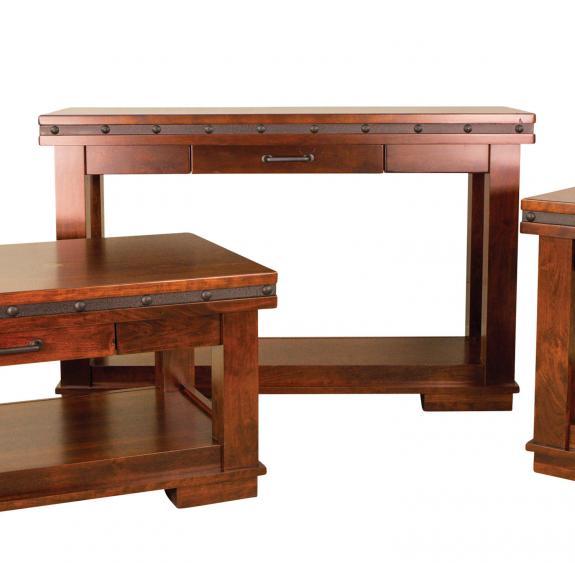 Pasadena Coffee and End Tables Sofa Table