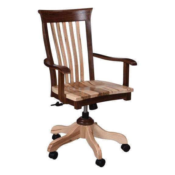 PWM-D Pierre Natural Finish Desk Chair