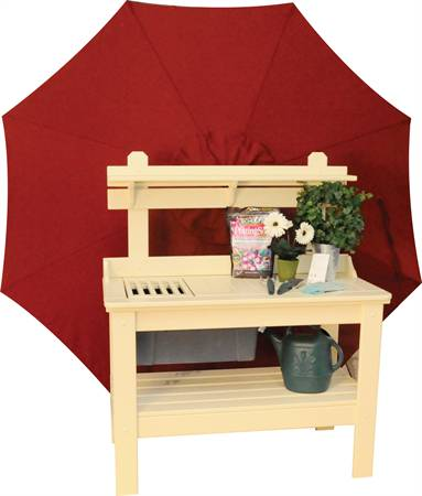Potting Table with removeable tub, cypress