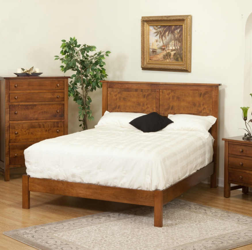 Cabin Creek Bedroom Set PI-1124Q Prairie Bed
