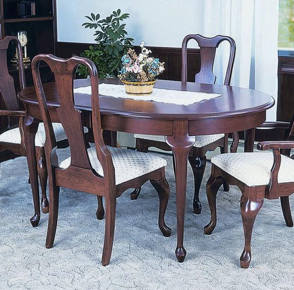 Queen Anne Dining Collection 400 Queen Anne Table