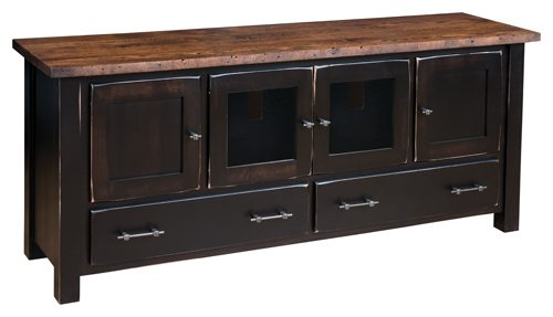 RBW-7030 Reclaimed barn Wood TV Stand