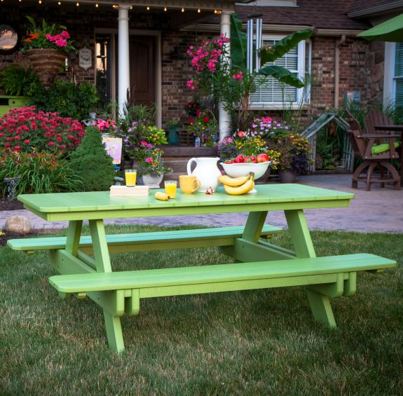 Amish Poly Picnic Tables for Sale