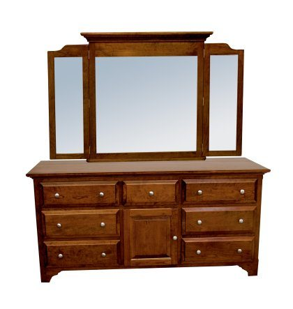 Richfield Bedroom Furniture Set Triple Dresser