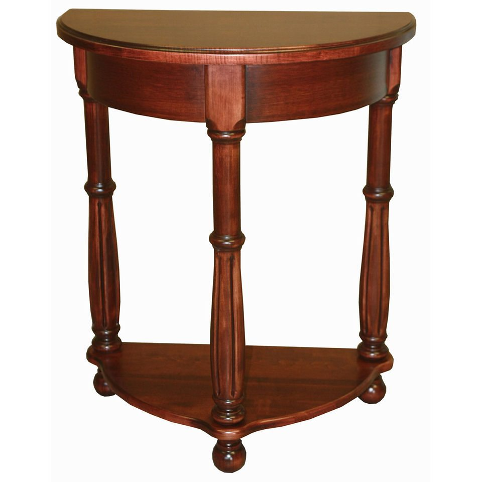Ridgewood Occasional Tables 2073 Half Round Table