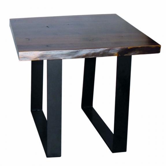 Romance Walnut Coffee and End Table E358 Walnut End Table