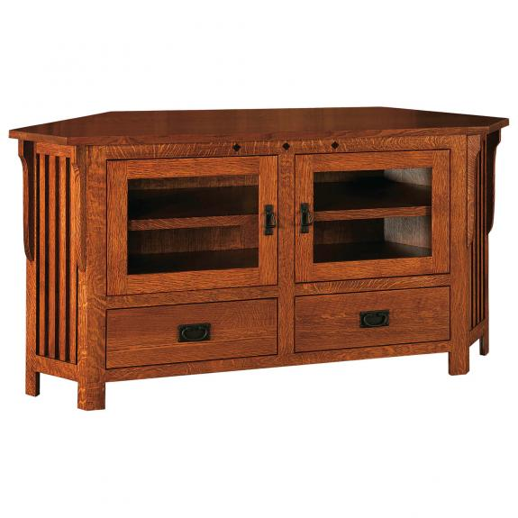 Royal Mission Corner TV Console