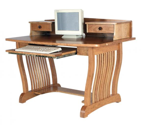 Royal Mission Desk with Topper