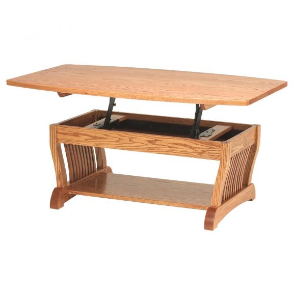 Royal Mission Occasional Tables RY3048LFT Royal Mission Lift-Top Table