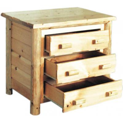 Rustic-Pine-Chest-Open
