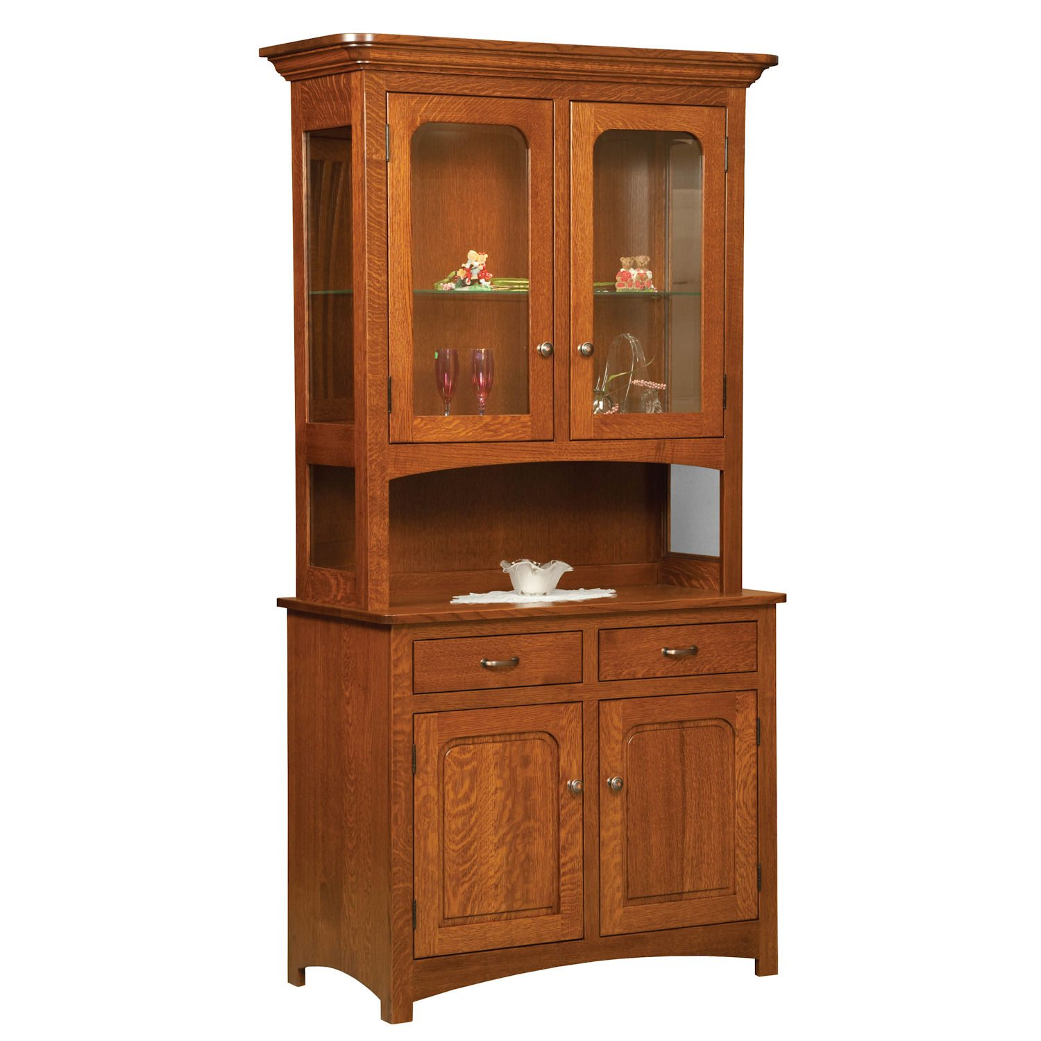 Savanah Wood Dining Room Hutch