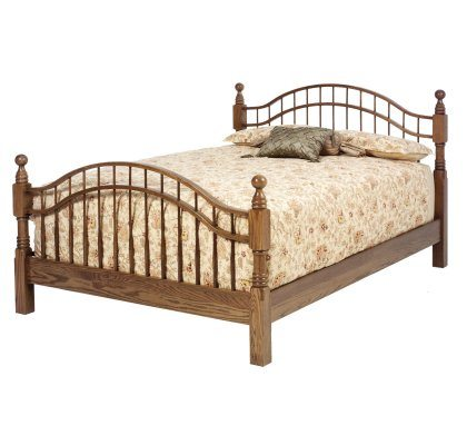 Sierra Classic Bedroom Set Double Bow Bed