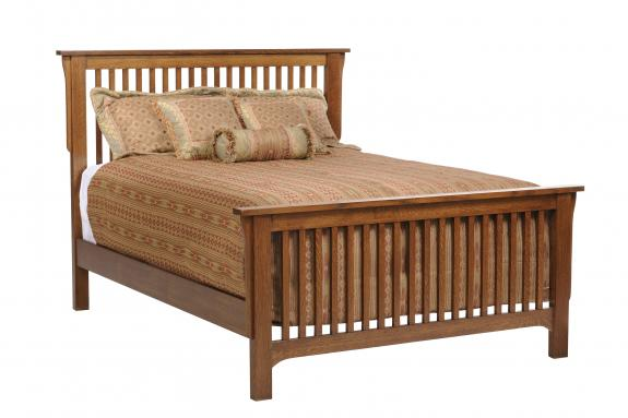 San Juan Mission Bedroom Collection Slat Mission Bed