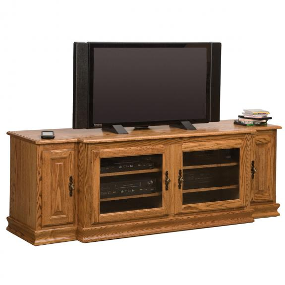 SWE-74 No Towers Oak TV Stand