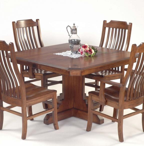 Santa Rosa Dining Collection Square Pedestal Table
