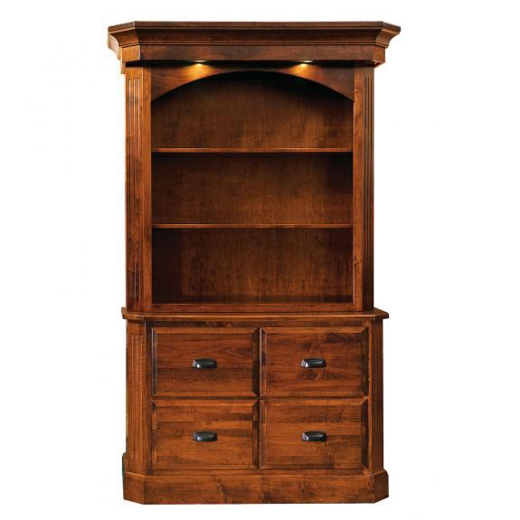 RW2033/RW2034 Saturn File Cabinet with Hutch