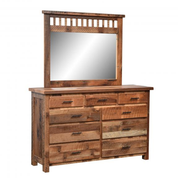 Savannah Bedroom Collection 345 9 Drawer Dresser