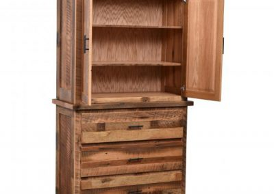 Savannah-Barnwood-Armoire-Open