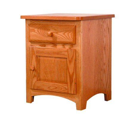 Classic Shaker Bedroom Suite 1 Door Nightstand