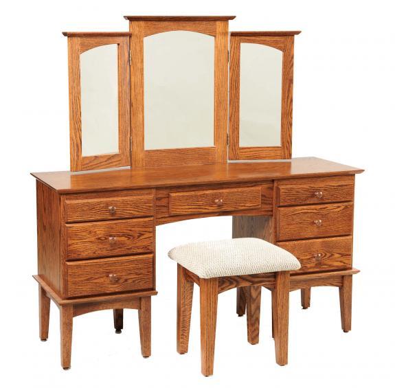 "56"" Shaker Dressing Table / Vanities"