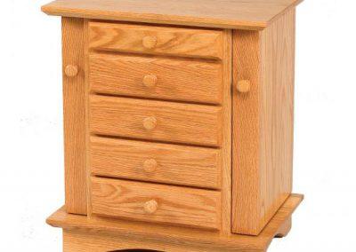 Shaker-Dresser-Top-Cabinet-Oak