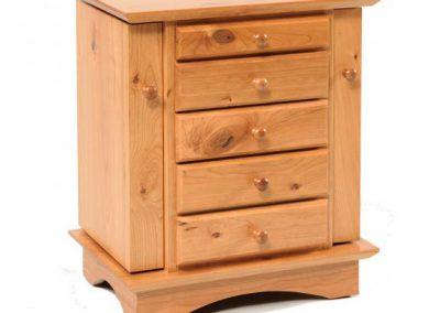 Shaker-Dresser-Top-Cabinet-Rustic-Cherry