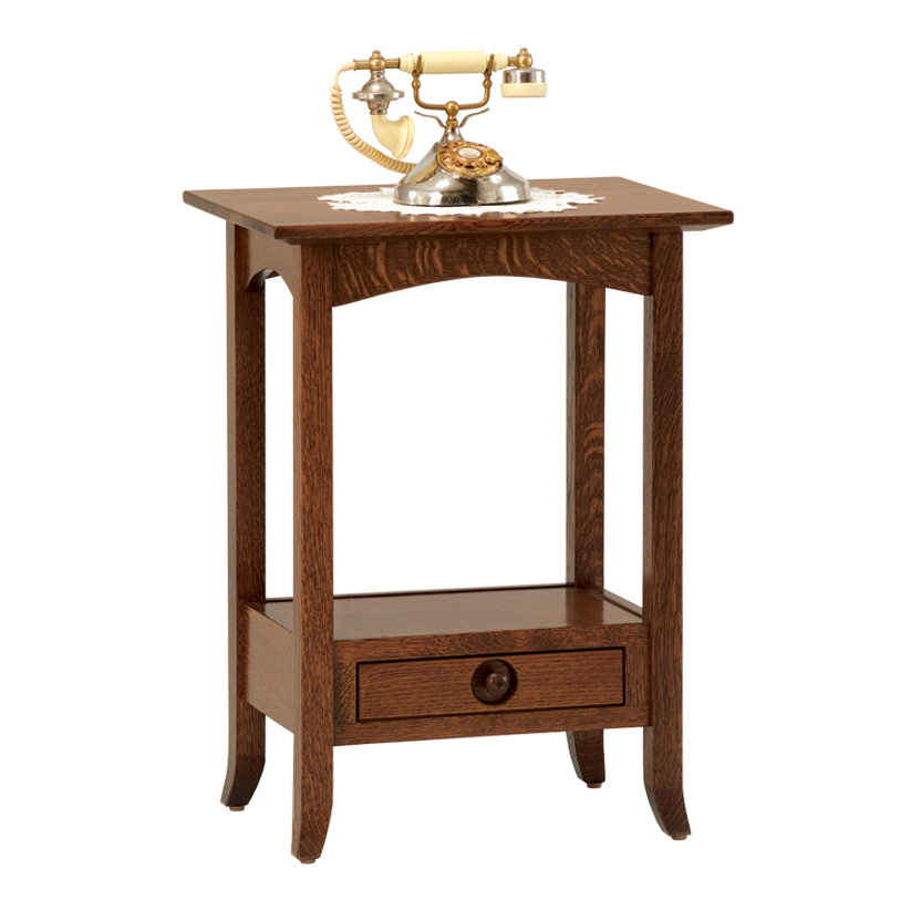 Shaker Hill Open Occasional Tables SKO1621PH Phone Stand